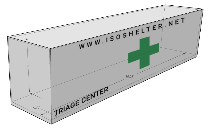Intermodal shelter systems diagram